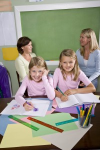 Extensive field testing took place with parents and teachers